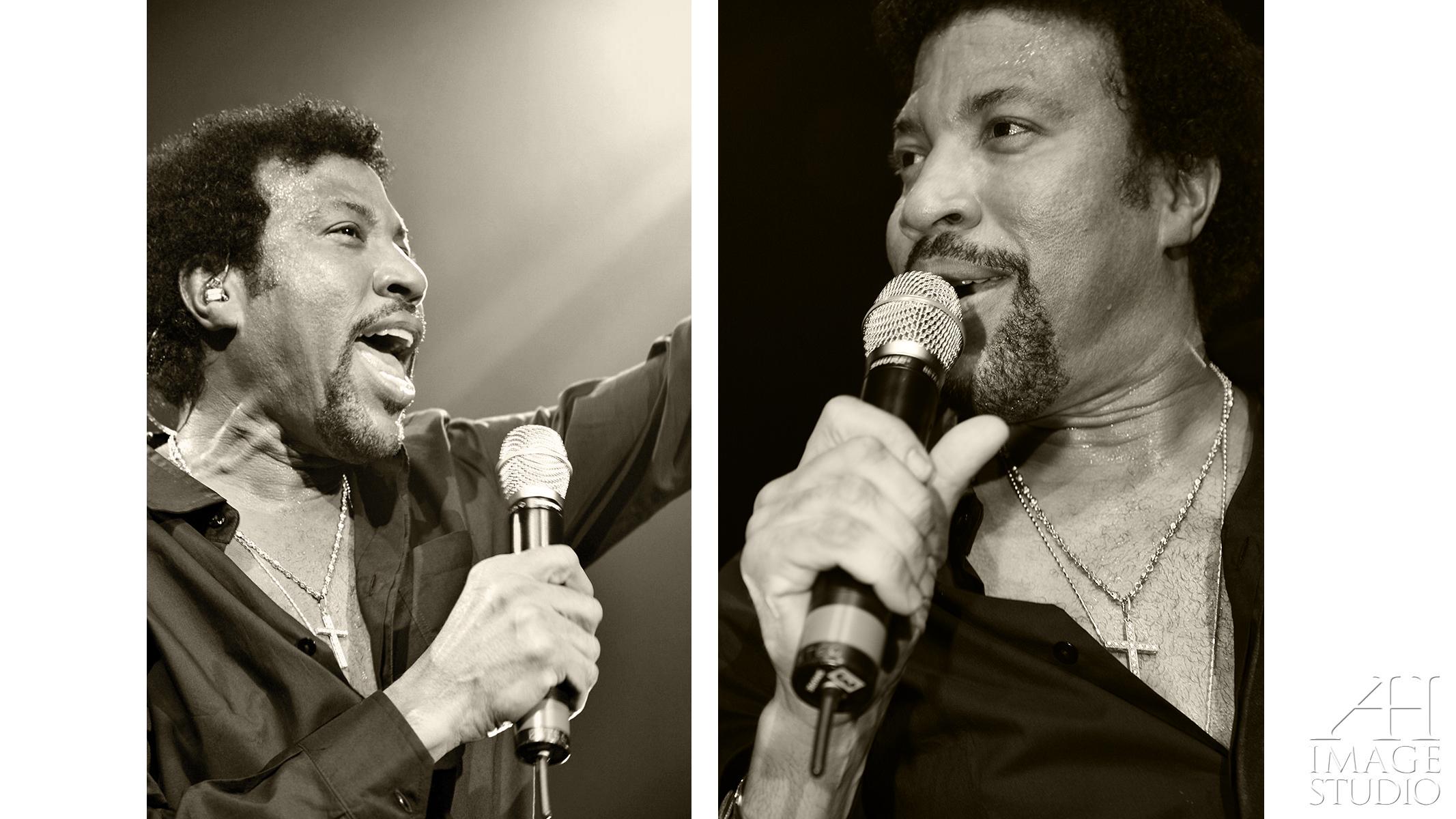 Lionel Richie celebrity concert photo